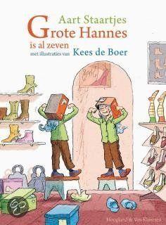 bol.com | Grote Hannes is al zeven, Aart Staartjes | Boeken