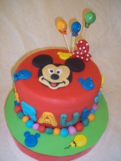 En Dulce: Tarta Mickey Mouse