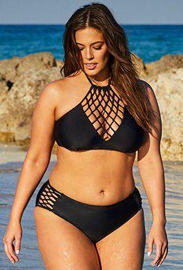 6a6c56c4dd0 High Waist - Ashley Graham x Swimsuits For All Leader Bikini