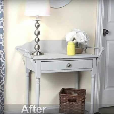 Rustoleum Chalked Aged Gray Gray Painted Furniture