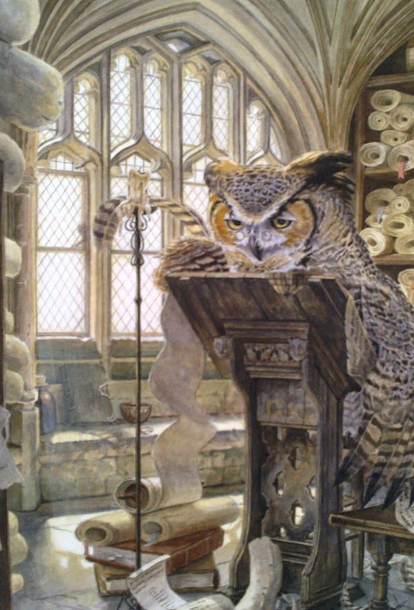 The Scribe by Chris Dunn Illustration/Fine Art