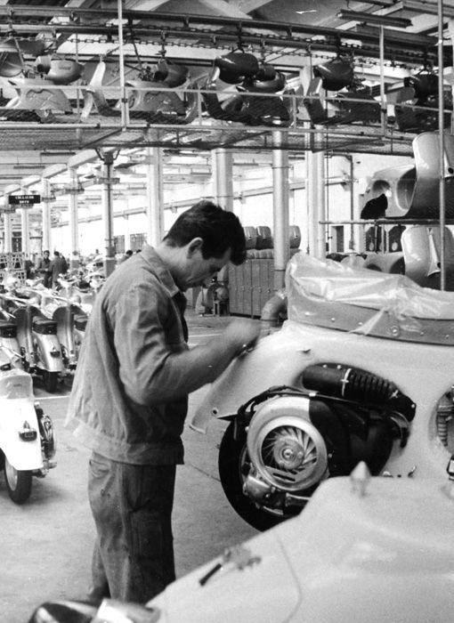 Vespa factory