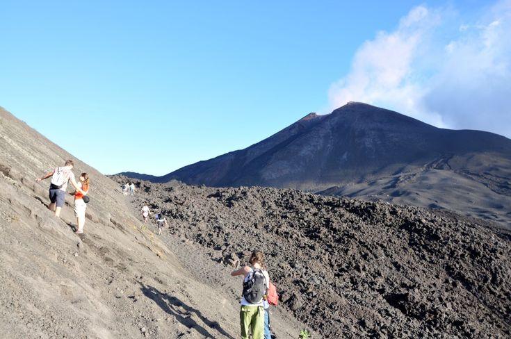Vulcão Pacaya - Antigua/Guatemala