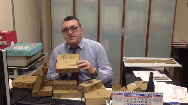 Cajas de cartón personalizadas.