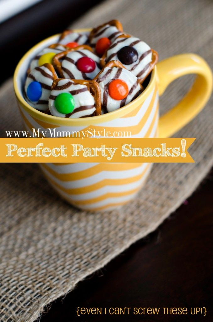 Perfect Party Snacks! Super easy bake sale snack item, always sells out ~ Pretzel Hugs