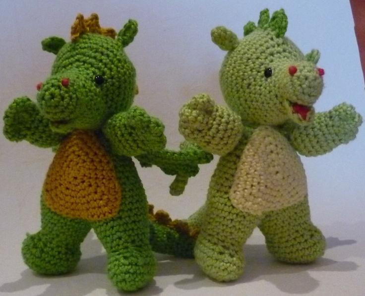 Crochet Amigurumi Dragon : Best crochet dragons images crochet animals