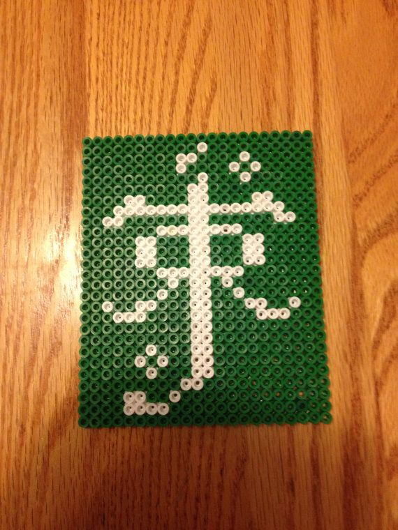 JRR Tolkien Symbol Perler Sprite by Thingamabobcrafts on Etsy, $10.00