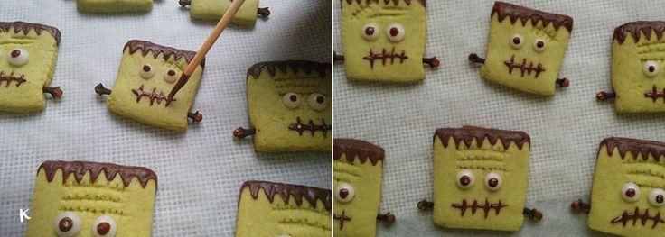 Te explicamos paso a paso como preparar esta receta de galletas de Halloween, ideal para hacer con niños