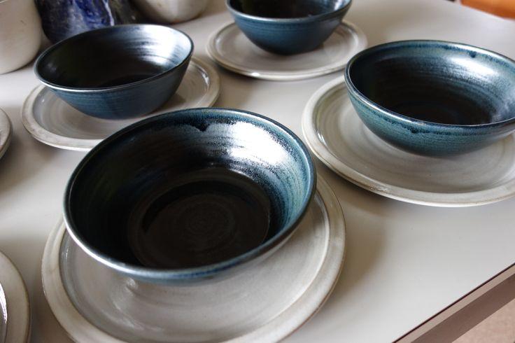 Stoneware plates and bowls - Scintilla Demi
