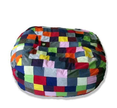 Patchwork Family-Size MultiColour3 Beanbag – TheBeanBag