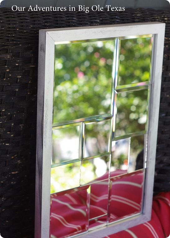 Knock off decor cool website for diy knockoffs of retail for Cool framed mirrors