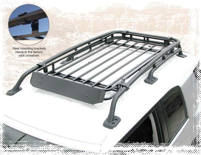 Wilderness Racks FJ Adventure Roof Rack XL [55610] - $634.95 : Pure FJ Cruiser Accessories, Parts and Accessories for your Toyota FJ Cruiser