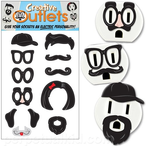 I love these! :DIdeas, Dorm Decor, Stuff, Creative Outlets, Electric Outlets, Funny, Outlets Stickers, Dorms Decor, Products