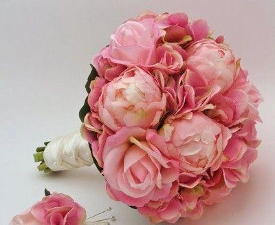 fotos de ramos de rosas preciosas de color rosadas