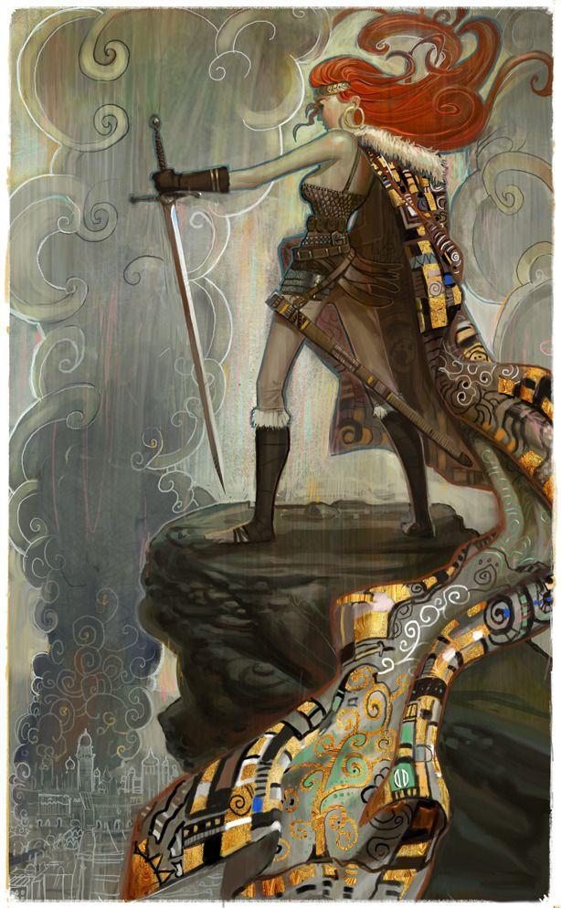 Les fabuleux artworks de Daniel Clarke