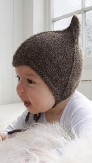 Strikkeopskrift   Strik lun og blød babyhue  Fint til baby  Sød barselsgave  Masser af babystrik   Håndarbejde