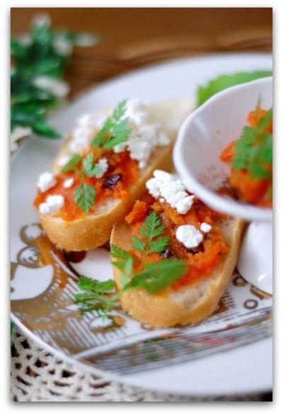 「キャロットジャムdeバゲットのおつまみ」のレシピ by バリ猫さん   料理レシピブログサイト タベラッテ