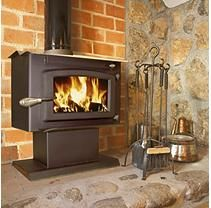 Small Wood Stove with Blower - EPA Certified