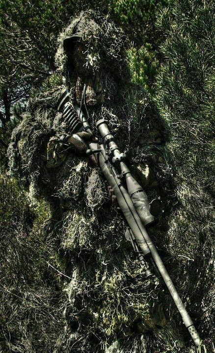 francotirador.....camuflage y silencio!
