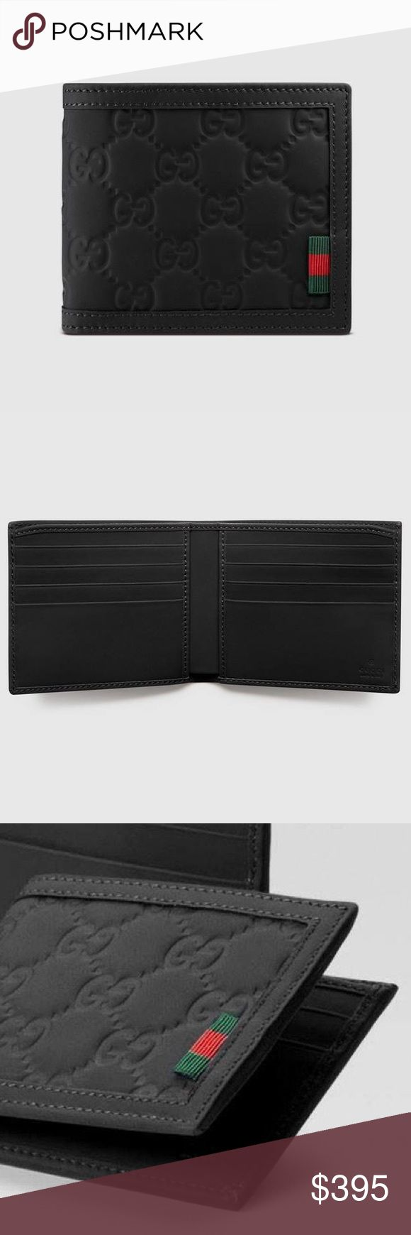 Gucci Men's Wallet - Father's Day Gift Idea 👨🏻 Authentic. Brand new. Final sale. Please ask questions before purchasing. Gucci Bags Wallets