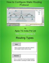 Configure Static Routing Protocal in Cisco Packet Tracerhttps://www.scribd.com/doc/261538765/Configure-Static-Routing-Protocal-in-Cisco-Packet-Tracer