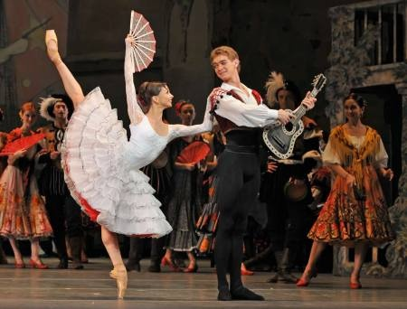 Evgenia Obraztsova and Alexei Timofeyev photographed by Dave Morgan.