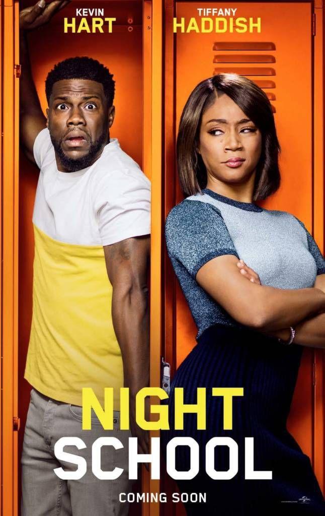 2nd 3rd Trailers For Night School Movie Starring Kevin Hart Tiffany Haddish Vanndigital Movie Night School Night School Free Movies Online
