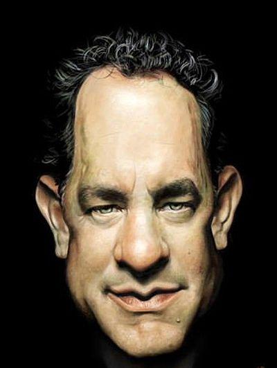 Tom Hanks Caricature Irancartoon web gallery :: the exhibition of <b>caricature</b> ... #Caricatures