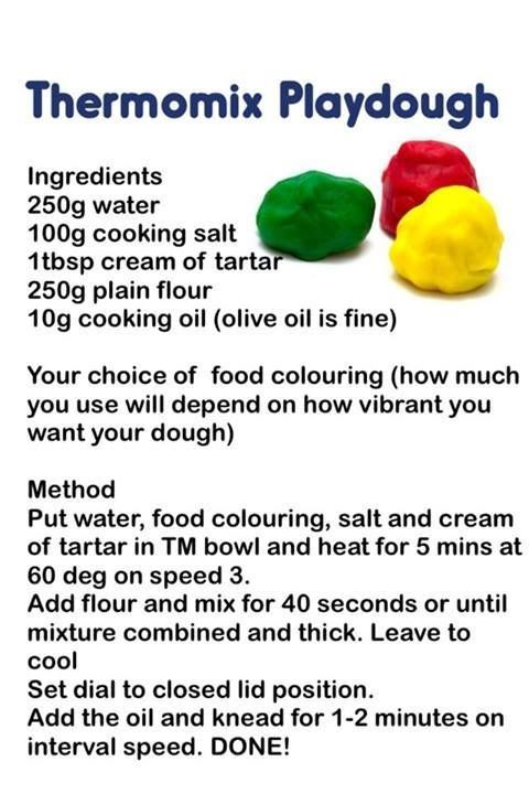 Thermomix Playdough