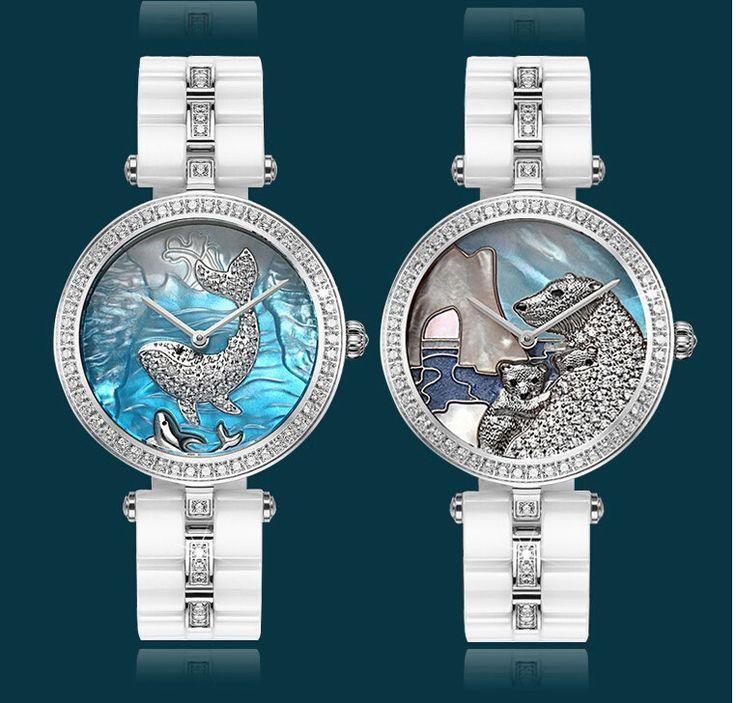 4 й год продавец 50 М воды BERLIGET наручные часы Женщины царапинам часы Женщины леди девушка керамические часы купить на AliExpress