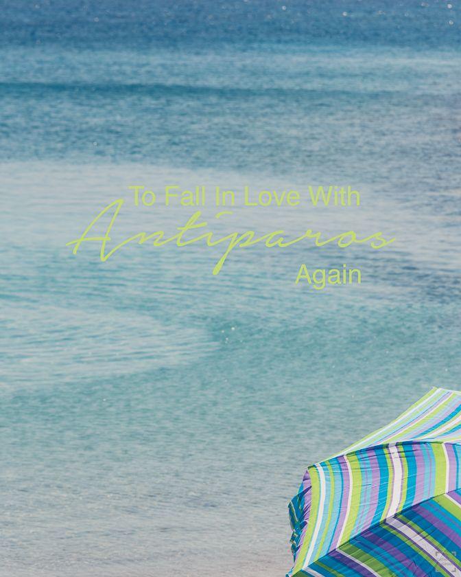 A roadtrip on the amazing island Antiparos in the Greek archipelago.