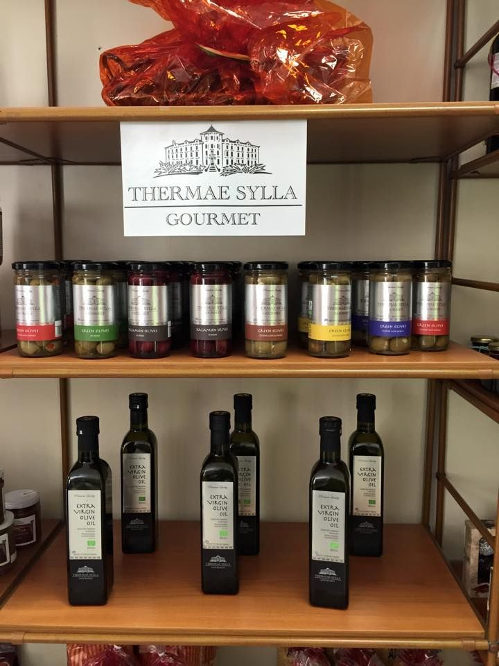 #ThermaeSylla has many #gourmet products to take with you!