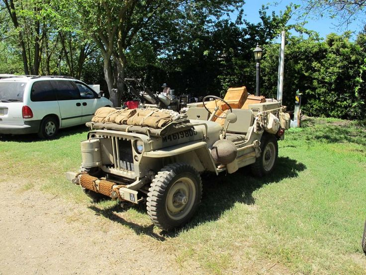 The Willys MB are four-wheel drive utility vehicles that were manufactured during World War II