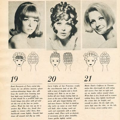 I love classic 1960s and 70s hairstyles and hairdressing, particularly classic wetsets. I collect vintage curlers, dryers and other items, and find th...