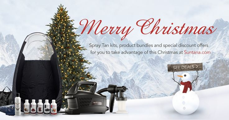 Have you seen our new Christmas Deals page? Currently we have all 'Mega' spray tanning kits at a special discounted price with many added extras - Perfect for beginners and those wanting to upgrade their unit. Also on offer for a limited time is the 2 x litre sunless solution combo deal. Get a sexy tan with a unique gorgeous scent at a special discounted price! Click on the image to view full details and grab a #ChristmasBargain  * please note offers are valid for limited time