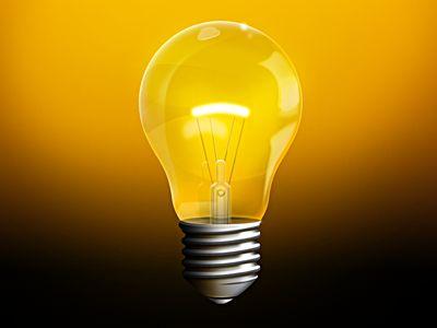 Light bulb  http://dribbble.com/shots/383867-Light-Bulb