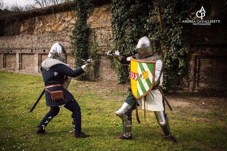 XIV century fight