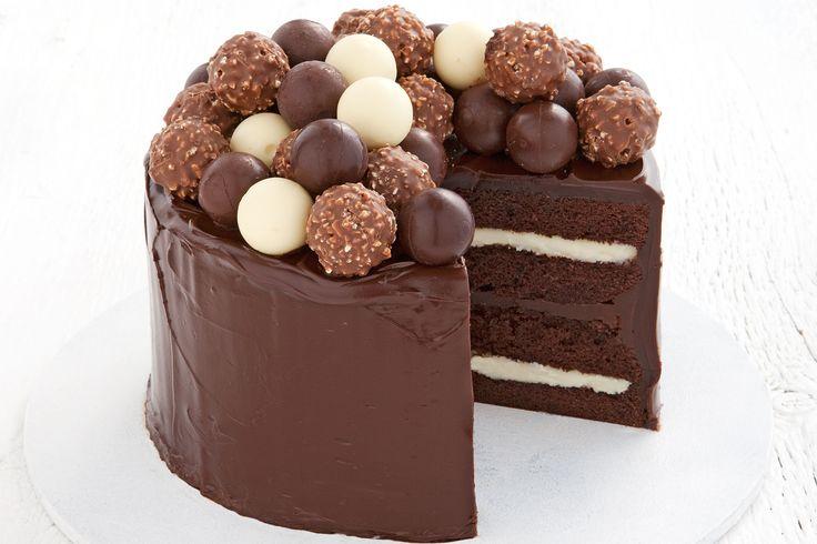 Homemade Chocolate Cake Recipe - Taste.com.au