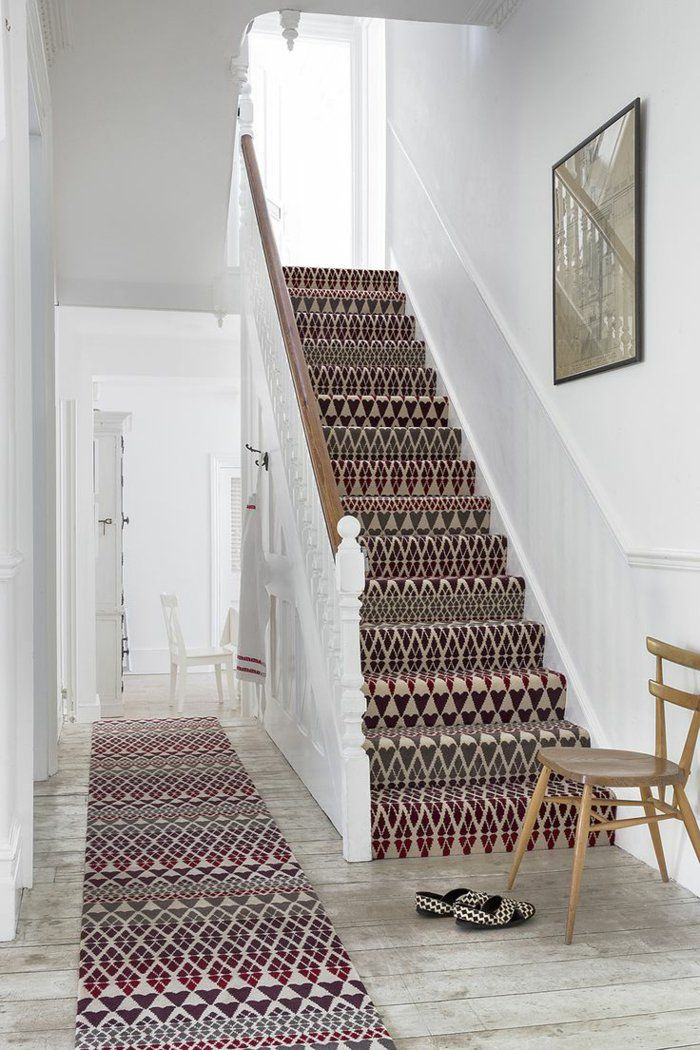 Incroyable Tapis Escalier Interieur #11: Le Tapis Pour Escalier En 52 Photos Inspirantes!