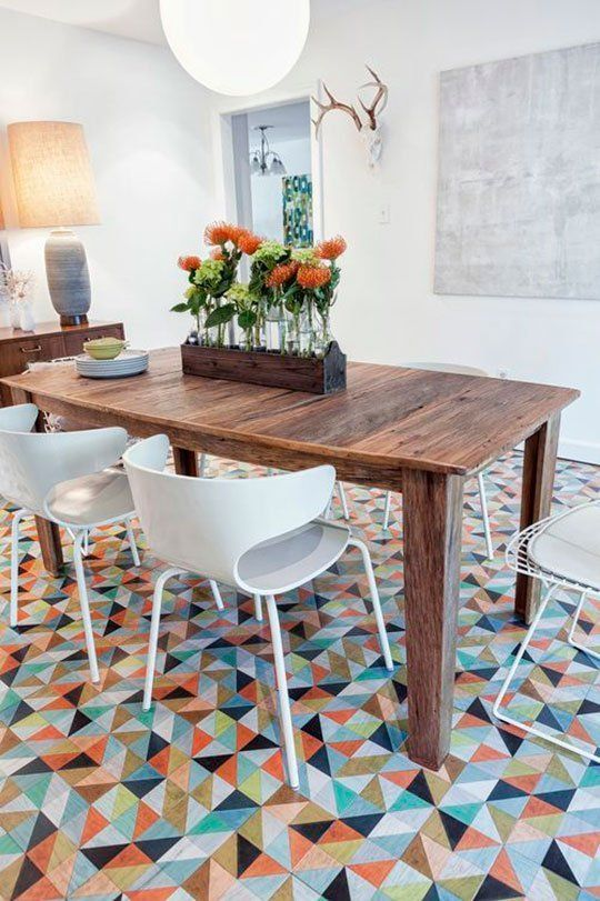 Take Another Look: Vinyl U0026 Linoleum Tiles Can Actually Look Good (Really!)
