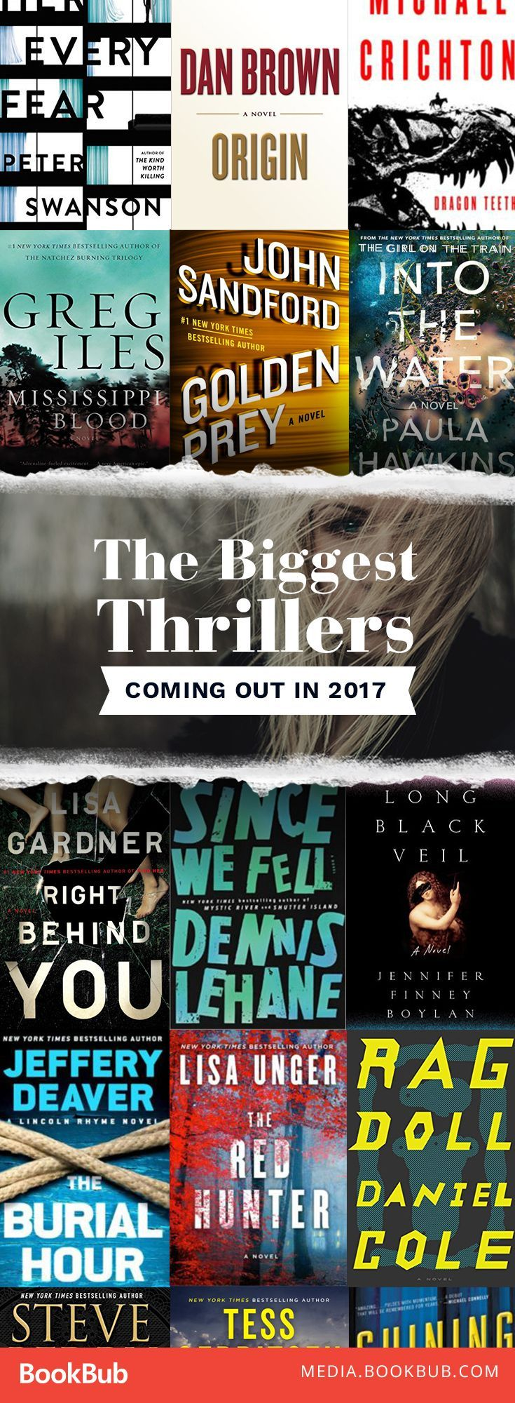 The biggest thrillers to read this year -- including psychological thriller books and other gripping reads!