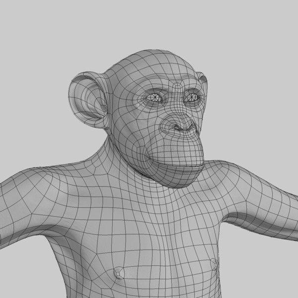 Chimp (2) (ANIMATED) (FUR) (ID: 711996)