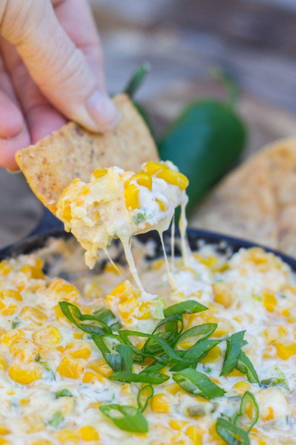 Hot Jalapeño Corn Dip