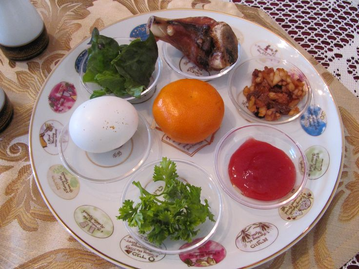 Charoses & Setting the Passover Seder Table | Goldenthal Family Blog