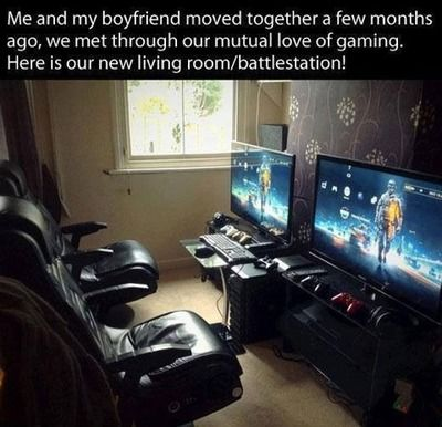 MUST HAVE THIS NOW !!!  Gamer couples rock