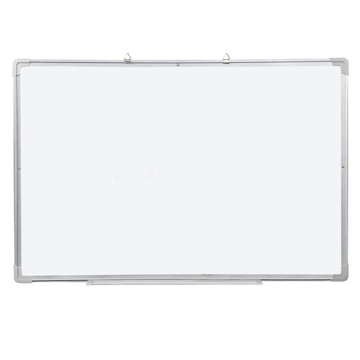 Magnetic Dry Wipe Whiteboard & Eraser Memo Teaching Board Kitchen Office (500 x 350mm)