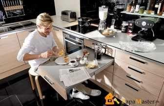 Необычные идеи для маленьких кухонь помогут Вам компактно и красиво обставить даже самую миниатюрную кухоньку
