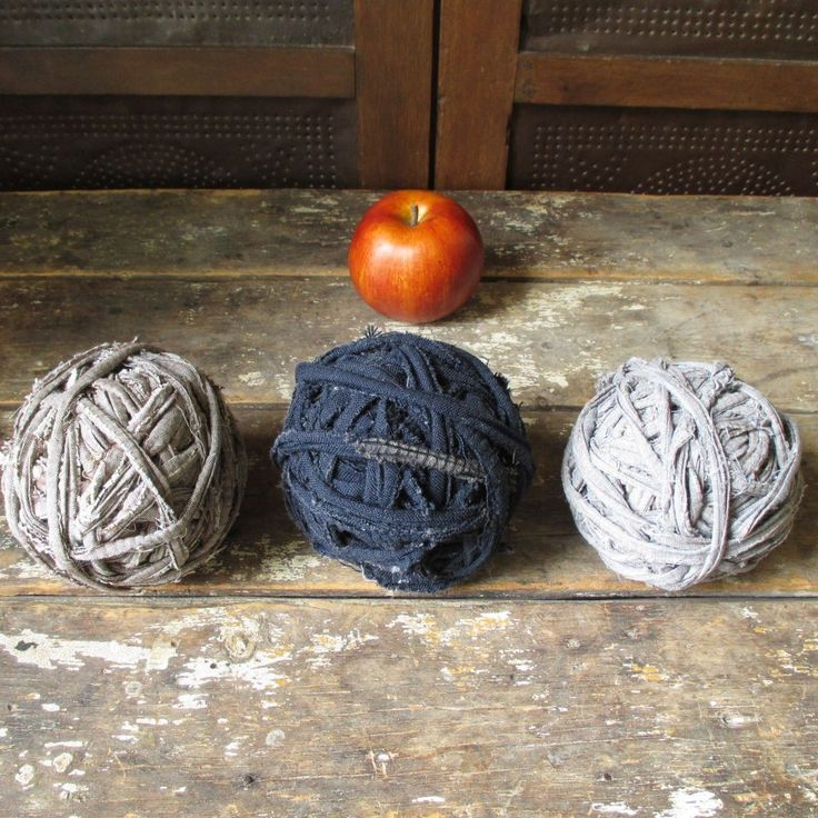 how to make primitive rag balls