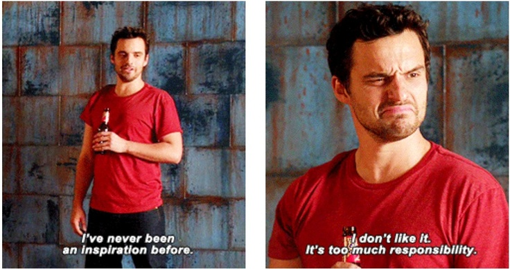Nick Miller, Inspiration - New Girl