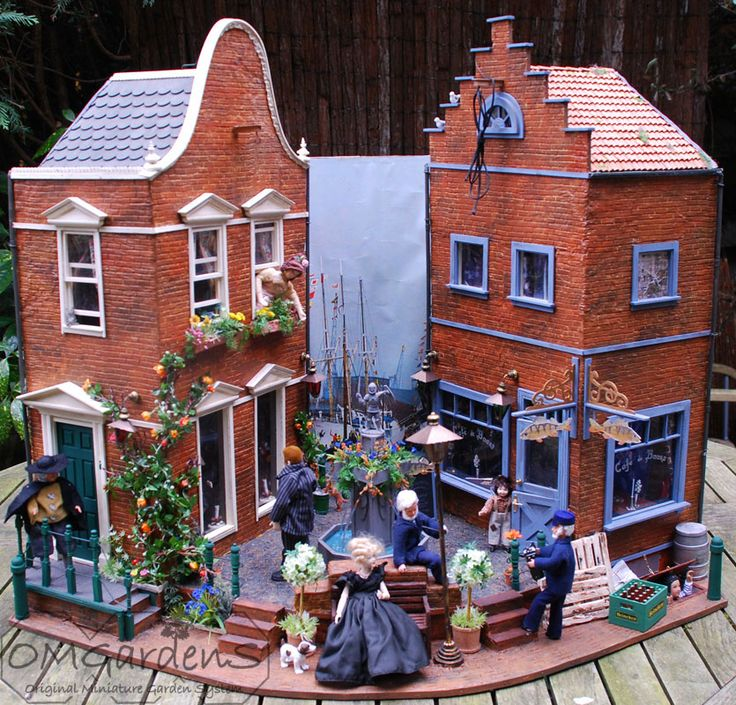 34 Best Mini Dutch Canal House Images On Pinterest